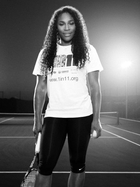 Serena Williams by Miami Photographer Tom Clark