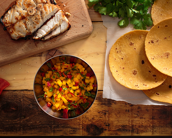 Mango Salsa by Miami Photographer Tom Clark